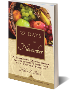 Purchase 27 Days in November on Amazon.