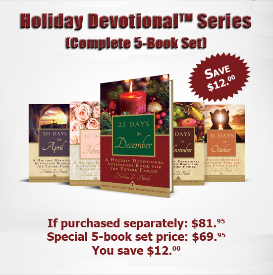 Purchase the Complete Five Book Series on Touchpoint Faith.